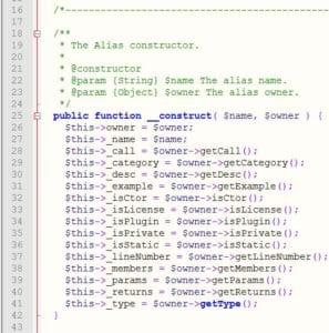 PHP-Code-Excerpt-Linenumbers
