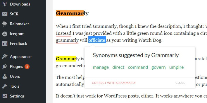 grammarly-synonyms