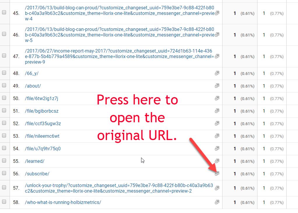 Open URL